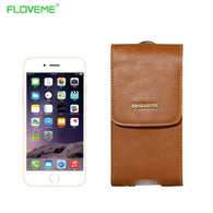 FLOVEME Luxury Genuine Leather Case For iPhone Samsung Galaxy - Goodman Electronics Outlet