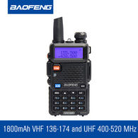 BAOFENG UV-5R ham radio Dual Band Radio 2 Way Radio Walkie talkie - Goodman Electronics Outlet