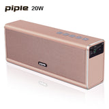 20W  Piple S5 Speaker Power Bank Portable Mini Bluetooth Speaker 4000mah Rechargeable Battery Wireless Loud speaker - Goodman Electronics Outlet