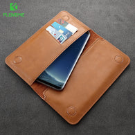 FLOVEME PU Leather Wallet Purse Universal Case For iPhone - Goodman Electronics Outlet