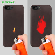 FLOVEME Matte PC Thermal Sensor Soft Case for iphone - Goodman Electronics Outlet