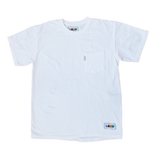 White Subtle Short Sleeve Pocket Tee