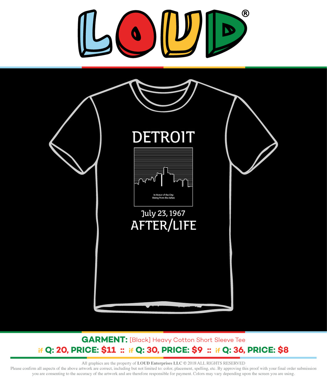 Detroit After/Life Tees