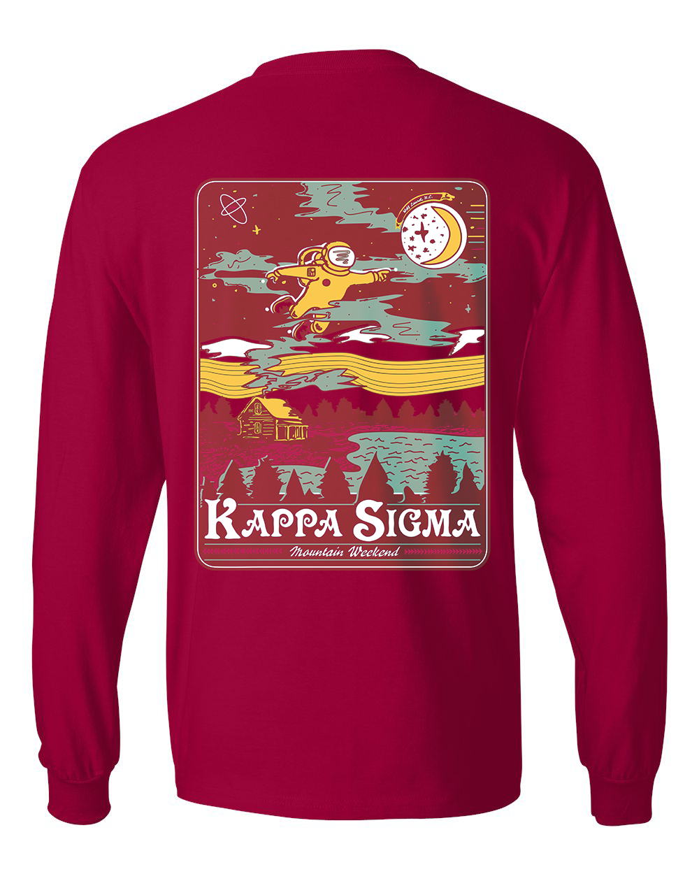 Kappa Sig Mountain Weekend Long Sleeve Tee