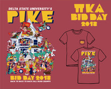 Delta State PIKE Bid Day 2018 Tees