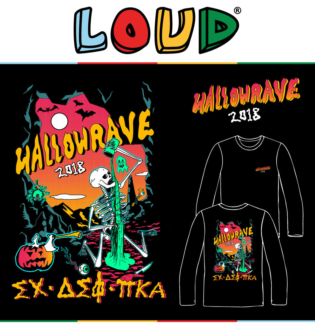 Arizona State University Sigma Chi/Pike/Delta Sig Hallowrave 2018