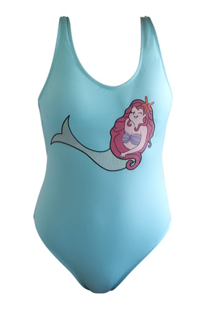 Supreme Lowback One Piece Happy Mermaid