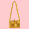 Cindy Summer Bead Bag [Mustard]