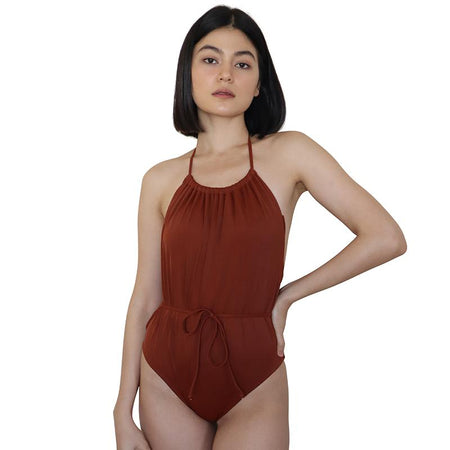 Giorgia May Ribbon Tie One Piece