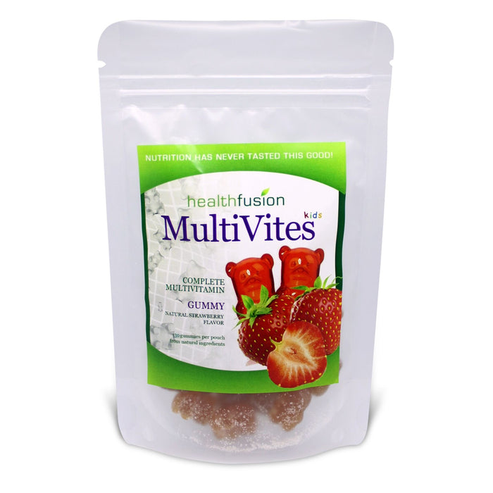 Health Fusion Gummy Multivites Strawberry (30's Pouch)
