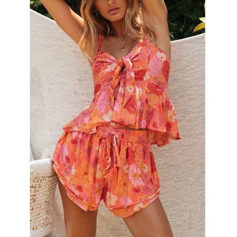 Nina Top & Shorts Set