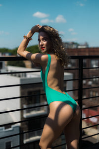 Supreme Lowback One Piece Sea Green