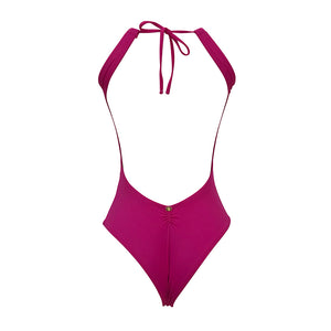 Surf Active Halter One Piece - Beach Party Pink