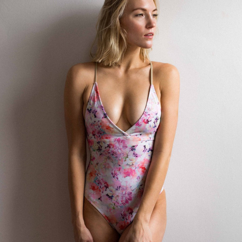 Kelly Laceback One Piece