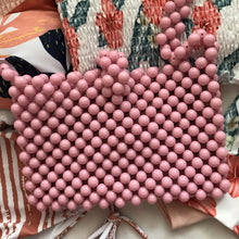 Cindy Summer Bead Bag [Pink]