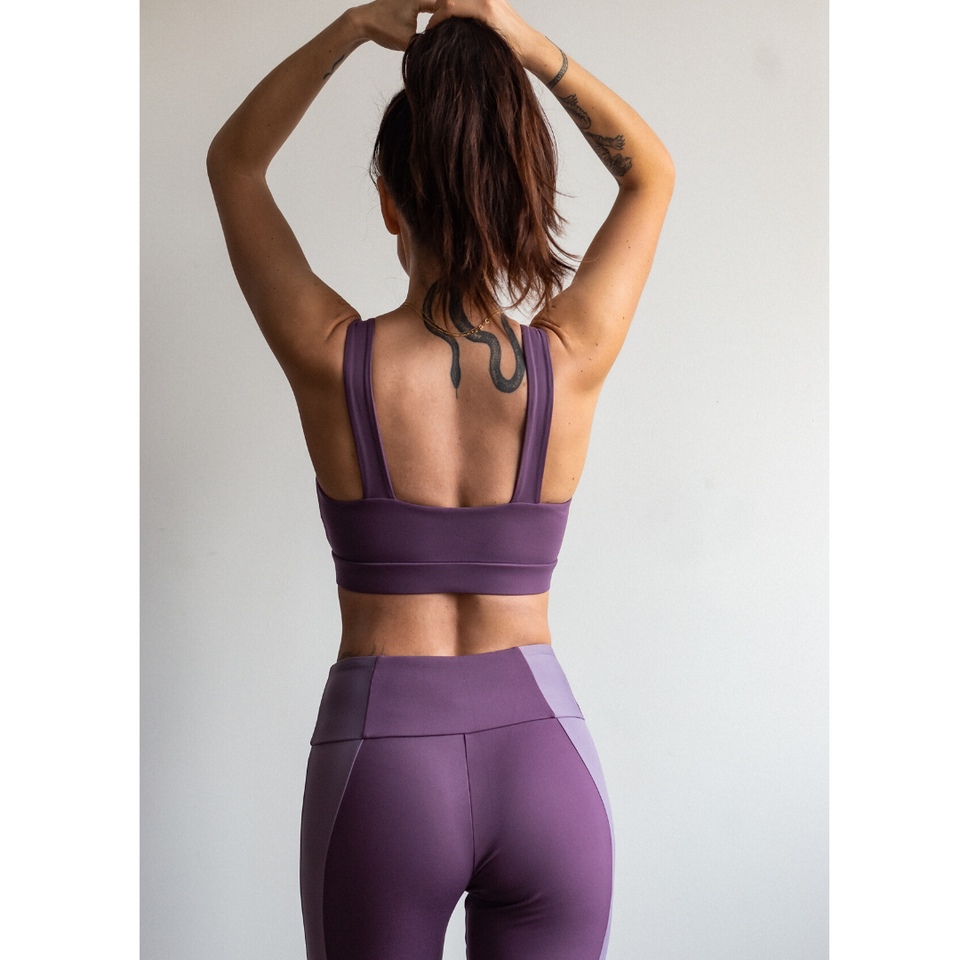 Purple Maria Active Wear Fitness Set