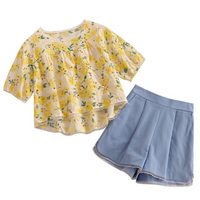 Sonia Top & Shorts Set