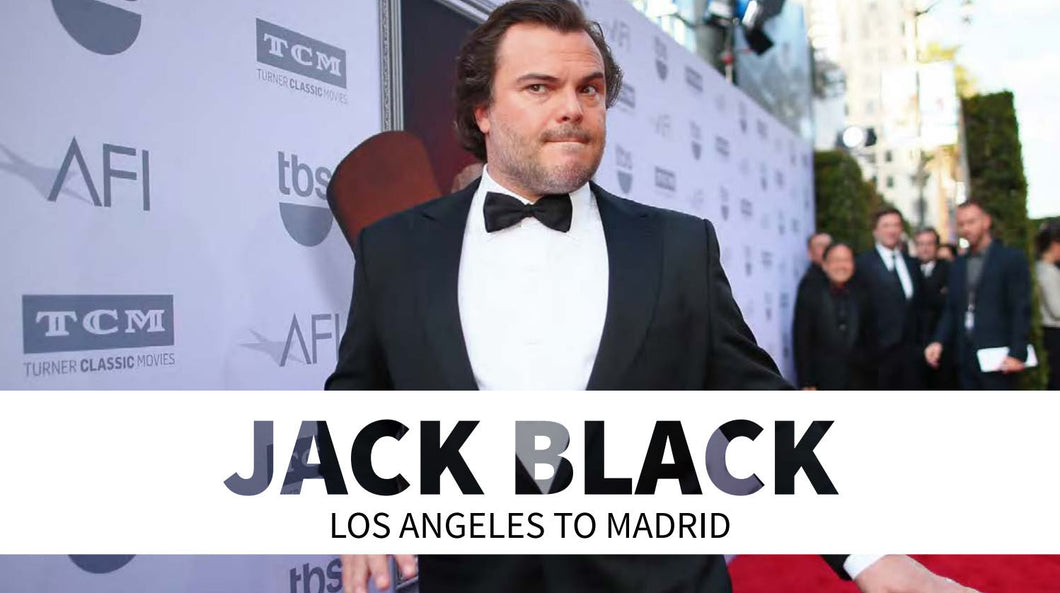 Jack Black: Los Angeles to Madrid
