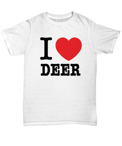 I Heart Deer Unisex T-shirt