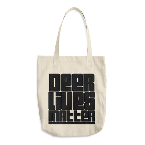 Deer Lives Matter - Cotton Tote Bag