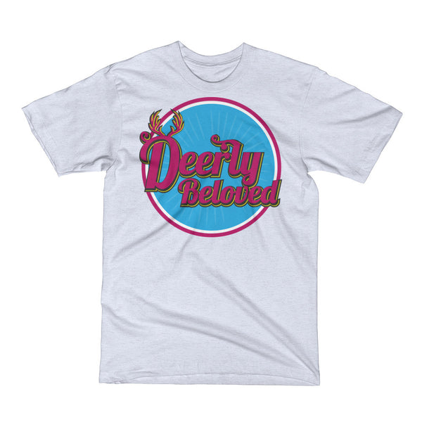Deerly Beloved Vintage Style Print Unisex Short Sleeve T-Shirt
