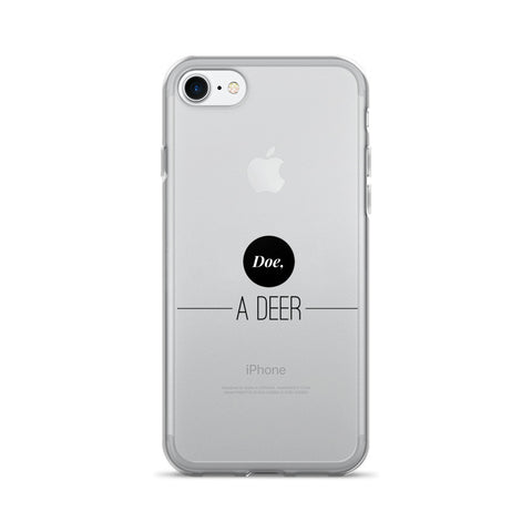 Doe, A Deer iPhone 7/7 Plus Case