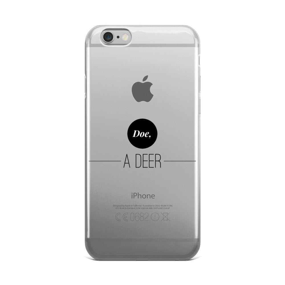 Doe, A Deer iPhone 5/5s/Se, 6/6s, 6/6s Plus Case