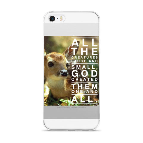 All The Creatures - iPhone 5/5s/Se, 6/6s, 6/6s Plus Case
