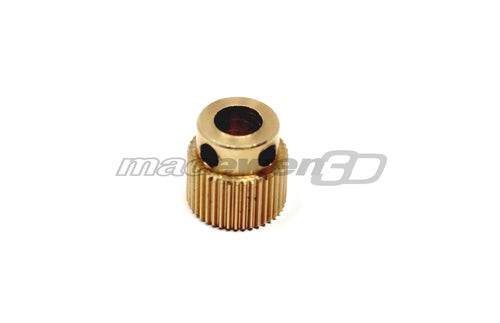 CR-10 Stock Brass Extruder Gear Replacement for CR-10-S4, CR-10, CR-10S, CR-10-S5