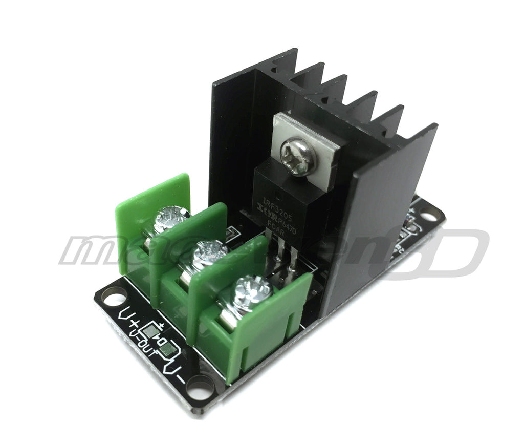 creality cr 10 replacment mosfet for heater bed macewen3d. Black Bedroom Furniture Sets. Home Design Ideas