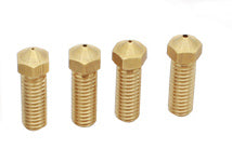 Volcano Style Brass Nozzle in Bore Sizes 0.4-1.2 mm for 1.75 mm Filaments