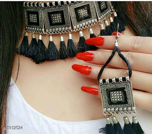Trendy Stylish Oxidised Jewellery Sets