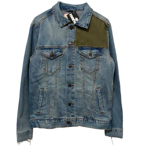 TFWD Distressed Denim Jacket