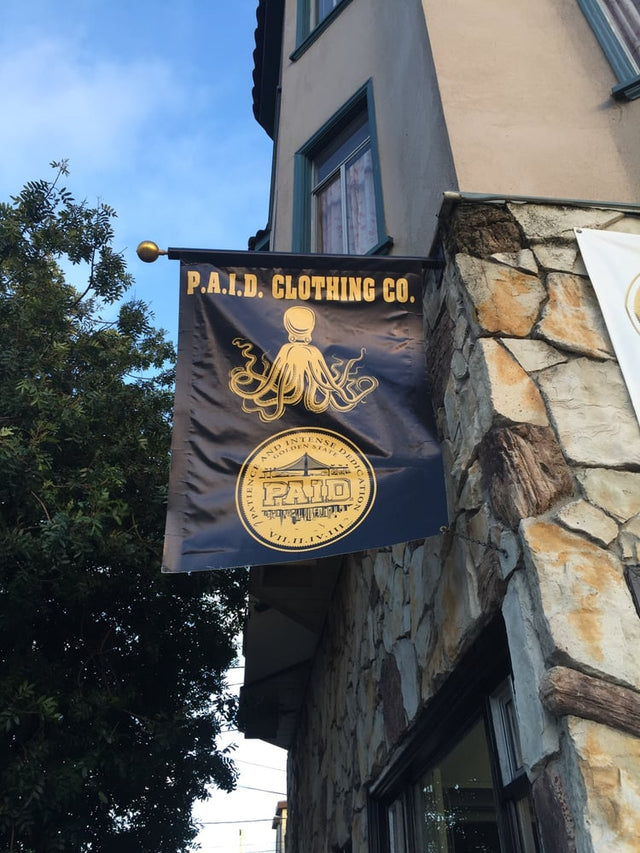 P.A.I.D Clothing Co. Store 249 Holloway Ave San Francisco, CA 94112 - Plymouth Ave & Brighton Ave