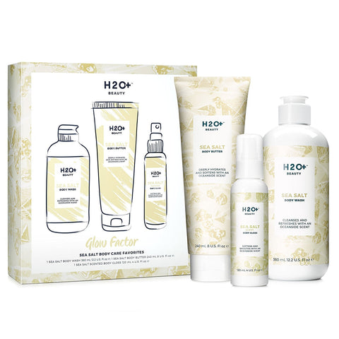 H2O Plus Beauty Glow Factor Sea Salt Body Care Favorites