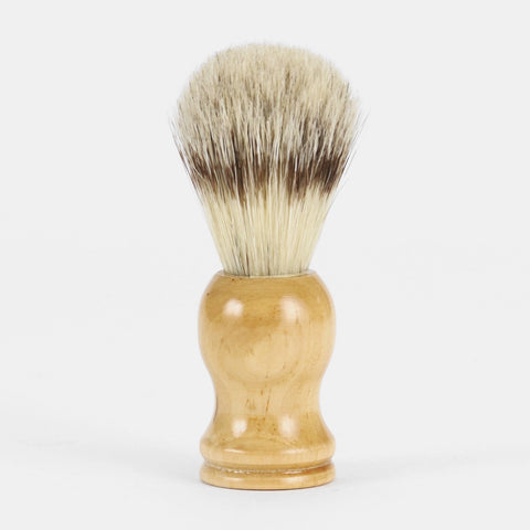 Crux Supply Co Wooden Shaving Brush