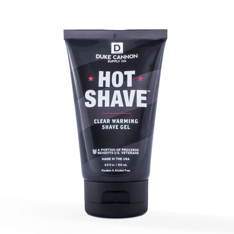 Duke Cannon Hot Shave Clear Warming Shave Gel