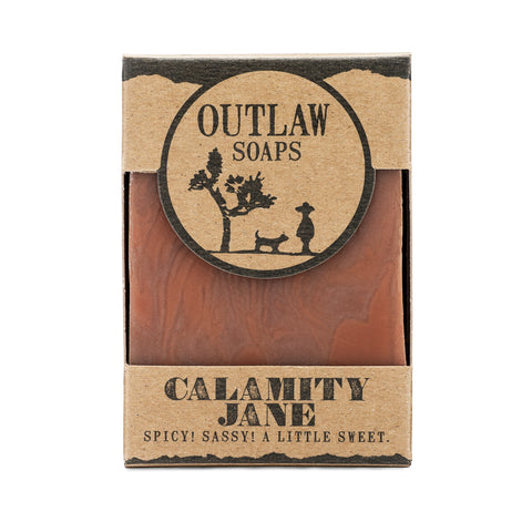 Outlaw Soaps Calamity Jane Spice Bar Soap