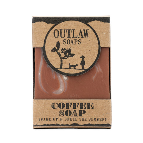 Outlaw Soaps Coffee Bar Soap