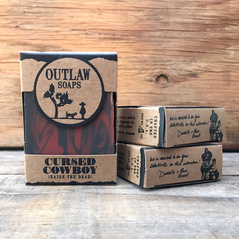 Outlaw Soaps Cursed Cowboy Bar Soap