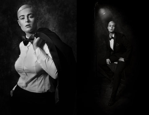 Image result for Stefania Ferrario androgynous