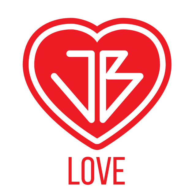 The Just Be Revolution Logo Heart Love