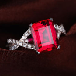 Ruby Passion Ring - Bella Artisan Jewelry