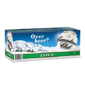 Canadian Club Dry Can 330ml 10pk