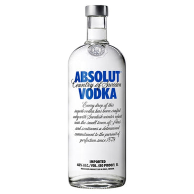 Absolut Original 1L Vodka