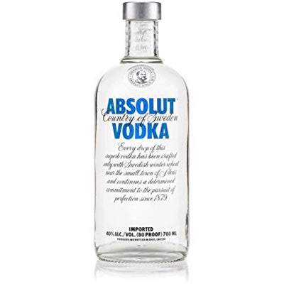 Absolut Original 700ml Vodka