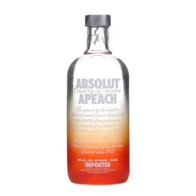 Absolut Peach 700ml Vodka
