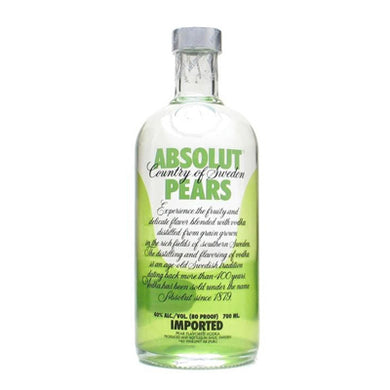 Absolut Pears 700ml Vodka
