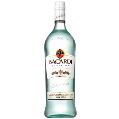Bacardi White 1000ML Rum