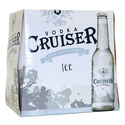 Cruiser Ice Bottle 275ml 12pk Alc 5%